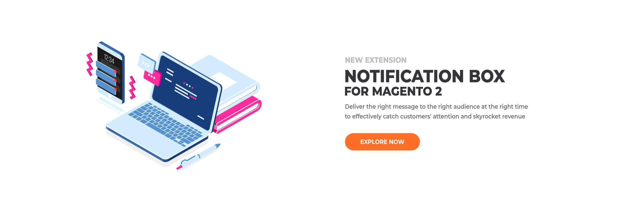 Magento 2 Notification Box