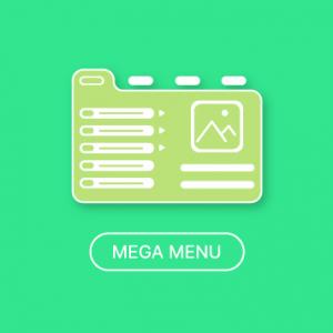 Magento 2 Mega Menu extension
