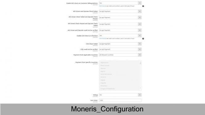 Validate card information with CVC/AVS Verification
