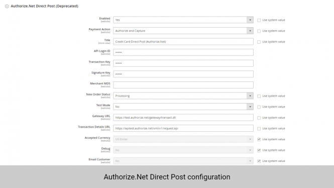 Magento 2 Subscription and Recurring Payments: Authorize.Net Direct Post Configuration