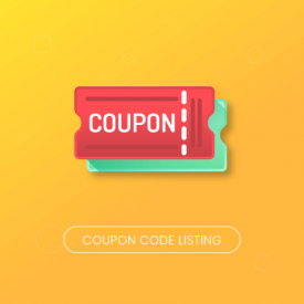 Coupon Code Listing