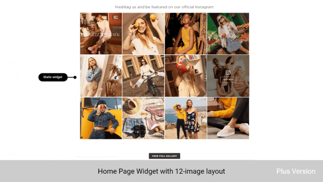 Magento 2 Instagram Shop