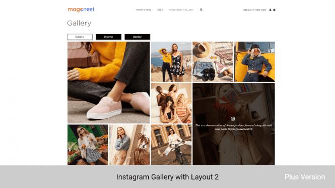 Magento 2 Instagram Feed