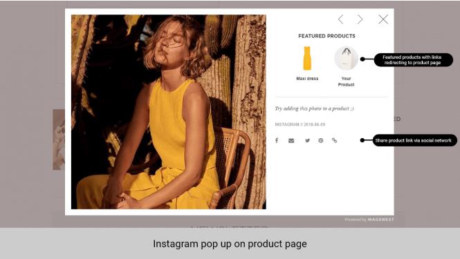Magento 2 Instagram Shop Extension