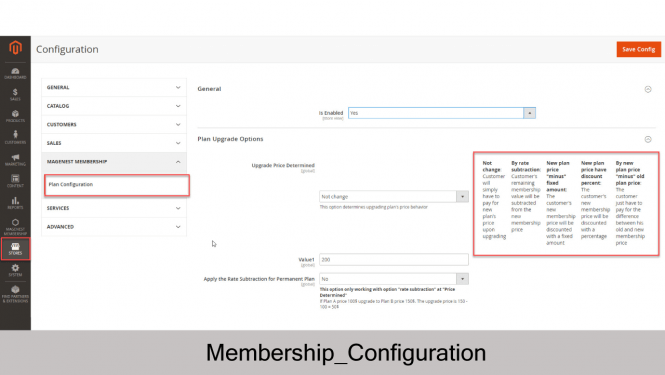 Membership Extension for Magento 2 Configuration
