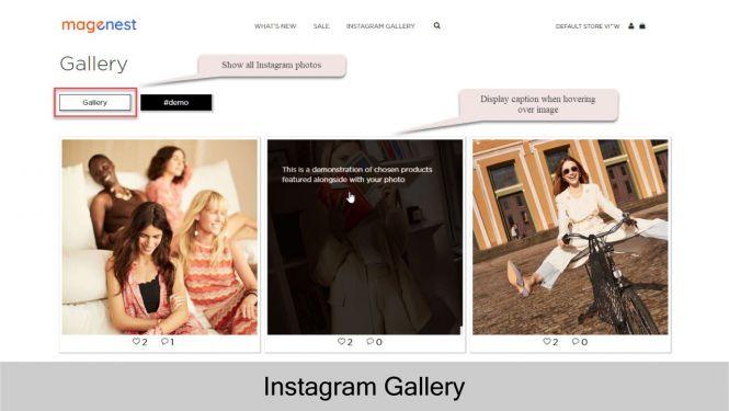 Magento 2 Instagram Integration