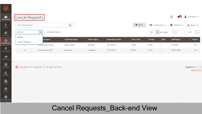 Cancel Requests