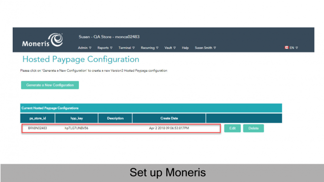 Hosted Paypage Configuration