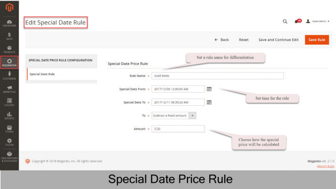 Special Date Rule