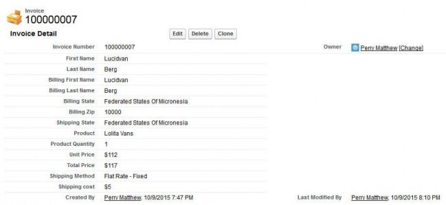 Salesforce CRM Integration Magenest Magento Extension - Salesforce invoicing app