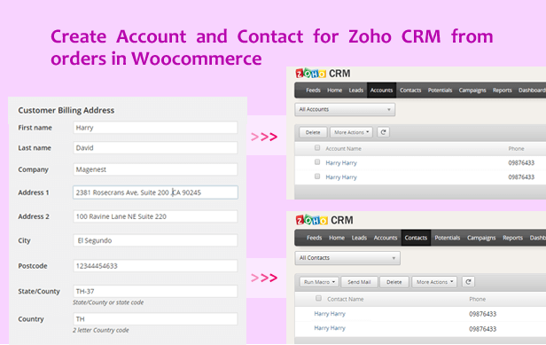 Woocommerce Zoho CRM Integration - 6