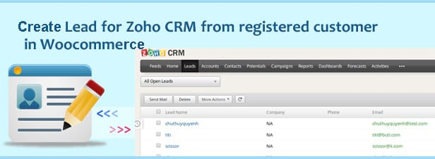 Woocommerce Zoho CRM Integration - 5