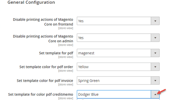 add color theme to custom invoice