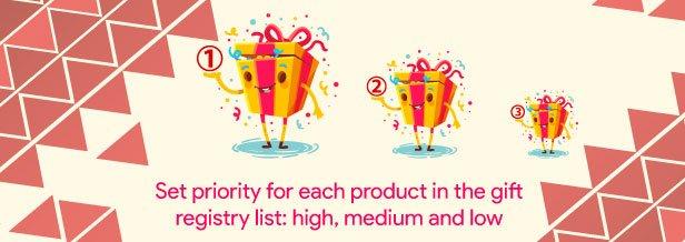 Woocommerce Gift Registry 13