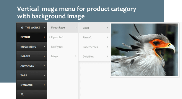 Woocommerce Responsive Product Category Vertical Mega Menu 3