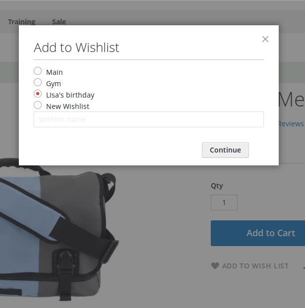 Magento 2 Multiple Wishlists