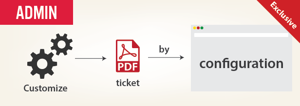 customize ticket layout for printing