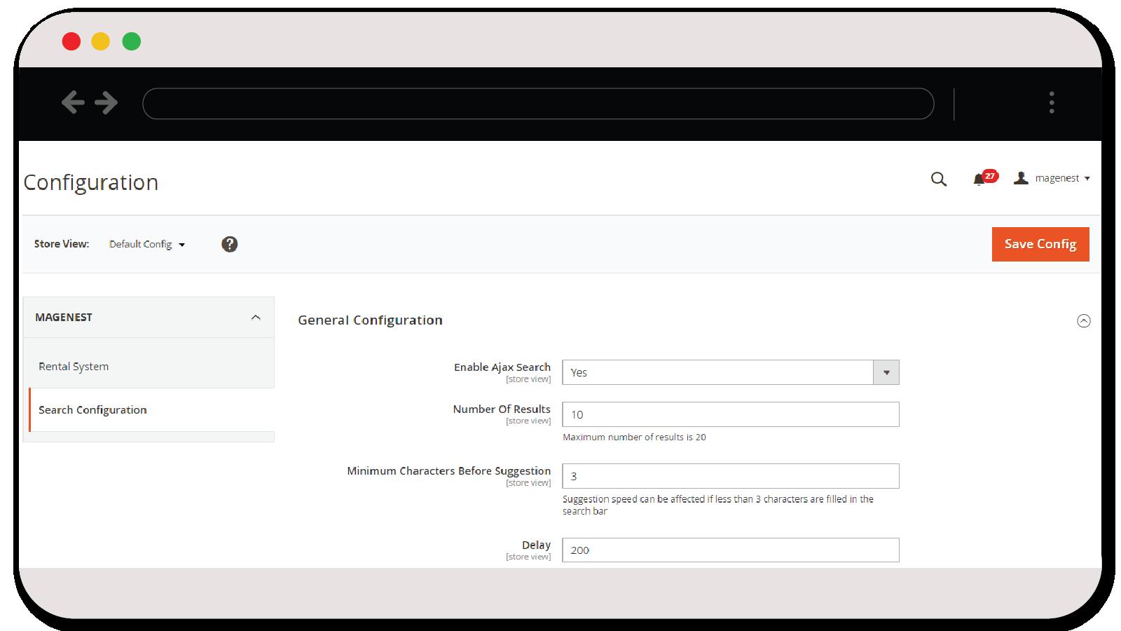 Magento 2 Ajax Search Extension