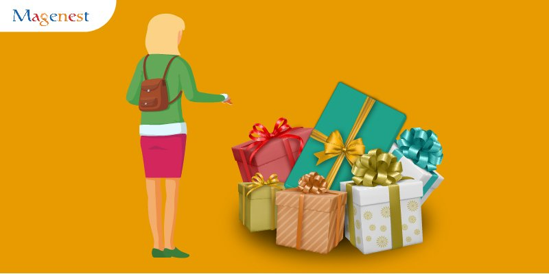 allow customers to create and manage gift