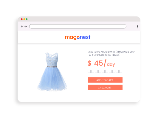 magento 2 rental system easy to user