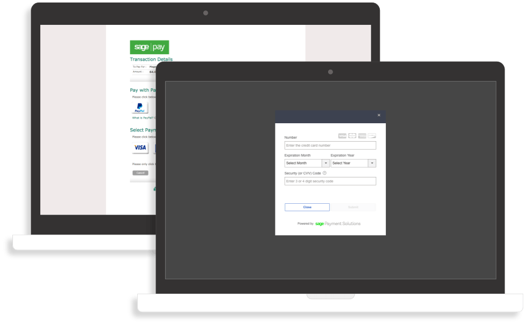 Magento 2 SagePay sage form iframe paypal