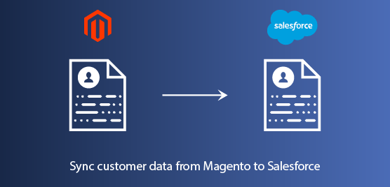 sync customer data from magento to Salesforce