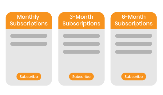 Magento 2 Subscription and Recurring Payments plan for subscriber