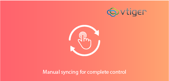 manual syncing