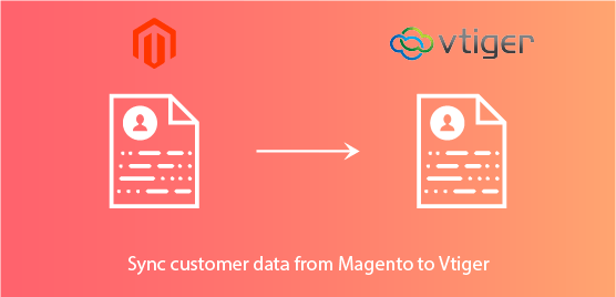 sync customer data from magento to vtiger-crm