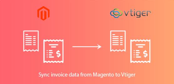 sync invoice data
