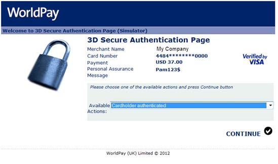 Magento 2 Worldpay Payment and Subscriptions Extension 3d secured