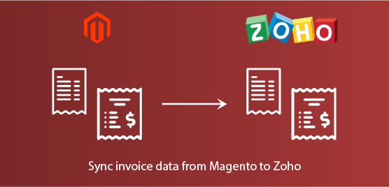 sync invoice data from Magento to zoho