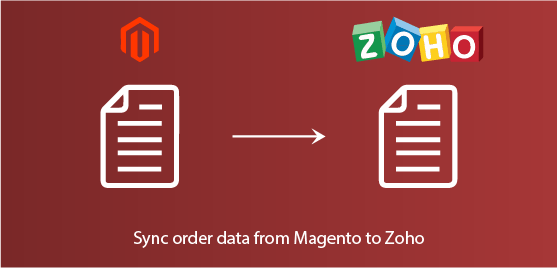 sync orders data from magento to zoho