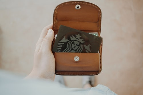 Personalized Customer Experience: starbuck gift card