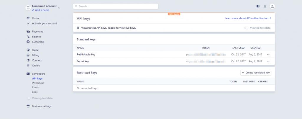 Magento 2 Stripe Gateway API