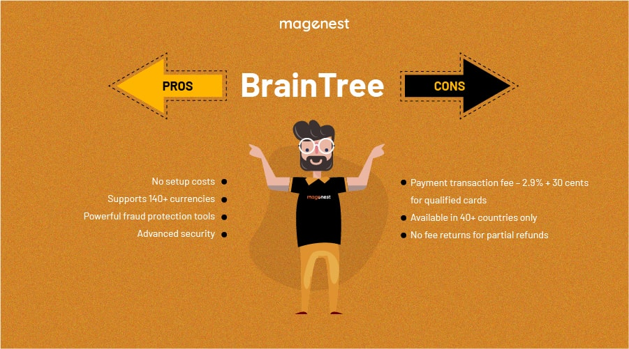 Choosing Magento 2 Payment Gateway - BrainTree Pros & Cons