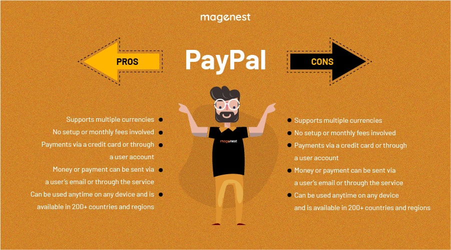 Choosing Magento 2 Payment Gateway - Paypal Pros & Cons