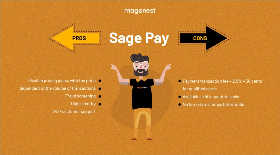 Choosing Magento 2 Payment Gateway - Sage Pay Pros & Cons