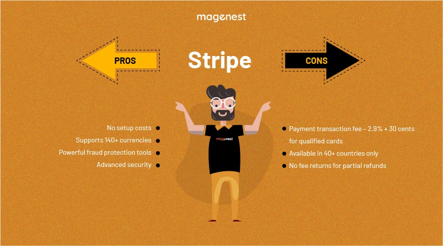 Choosing Magento 2 Payment Gateway - Stripe Pros & Cons