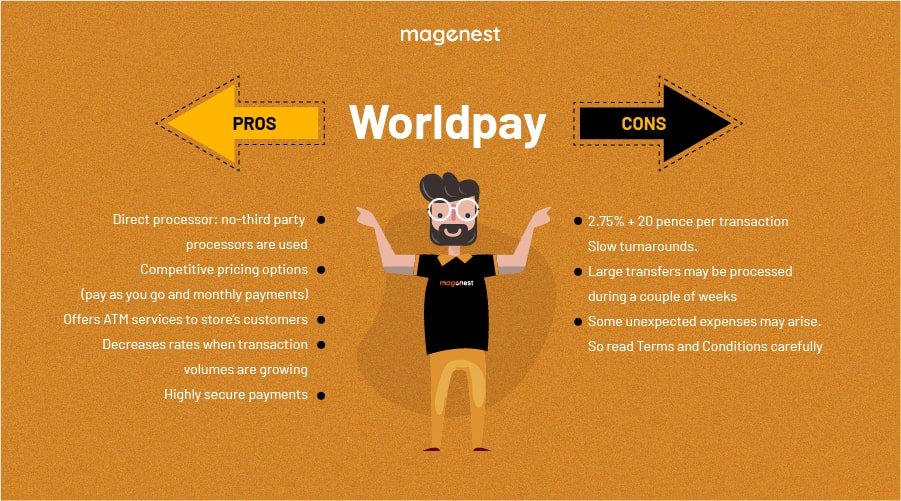 Choosing Magento 2 Payment Gateway - Worldpay Pros & Cons