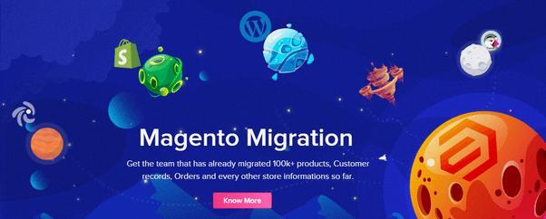 Top Magento 2 Migration service: webnexs