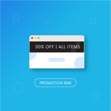 Best Magento Extensions: Magento 2 Promo Bar