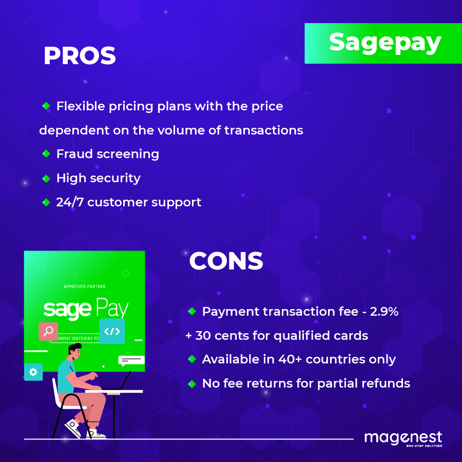 Sagepay pros and cons