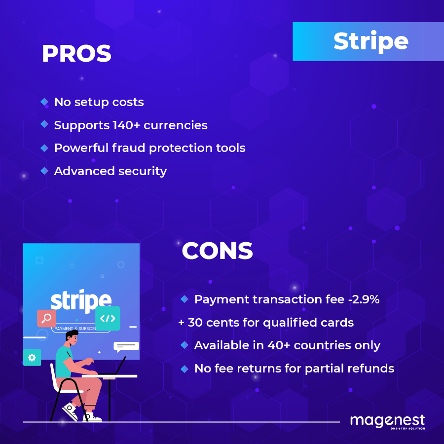 Stripe pros and cons