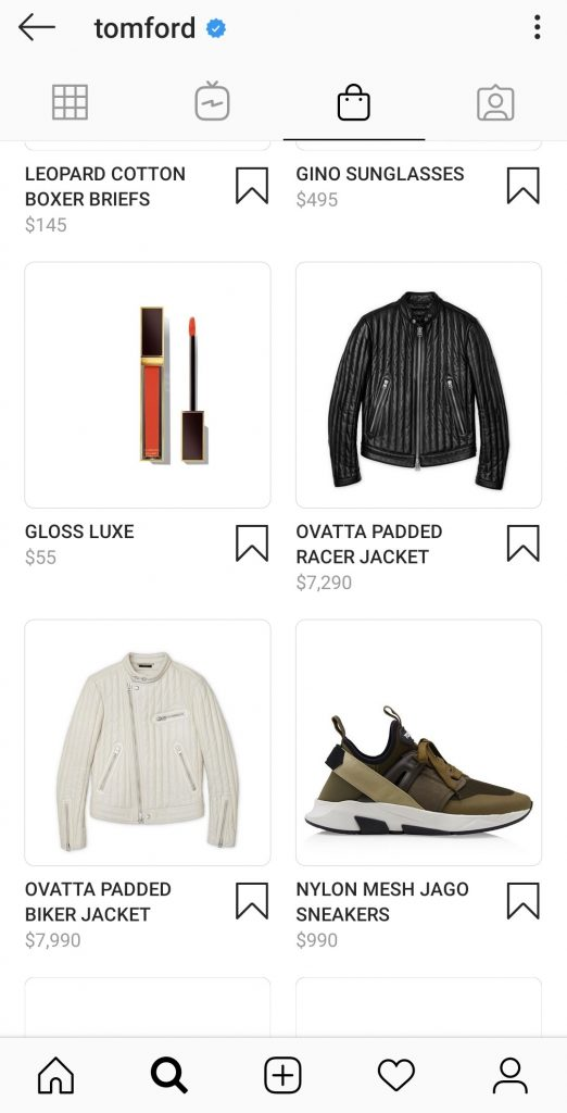 Instagram shopping features: Show products on Instagram