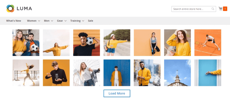 Instagram Widget for Magento 2: Amasty