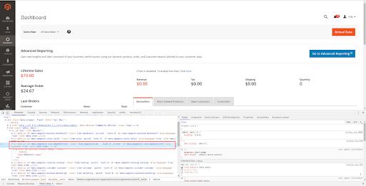 Set custom menu icon in Backend Magento 2: inspect the default menu item