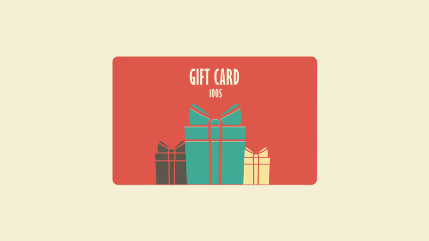 create customer loyalty: gift cards