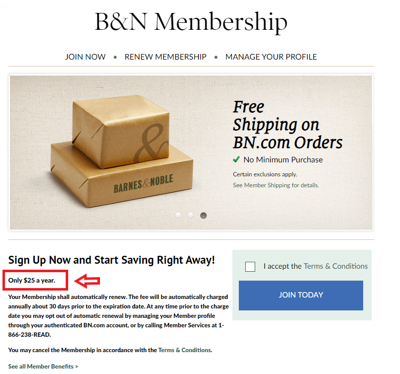 eCommerce Loyalty Program: fee-based program