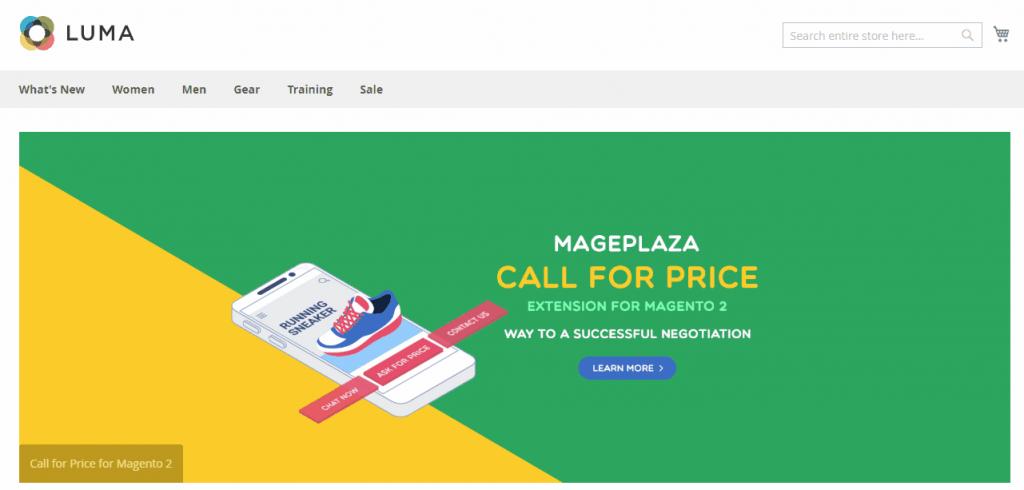 Magento 2 banner slider: Mageplaza